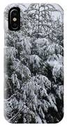 Cold Winter Snow IPhone Case