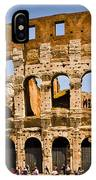 Coliseum Facade IPhone Case
