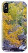 Colorado Rocky Mountain Autumn Canyon View IPhone Case