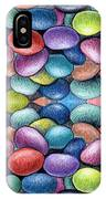 Colored Beans Design IPhone Case