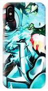 Colorful Abstract Graffiti Wall IPhone Case
