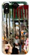 Colorful Beads At The Surajkund Mela IPhone Case