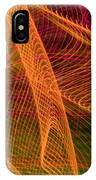 Colorful Beams 1 IPhone Case