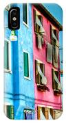 Colorful Burano IPhone Case