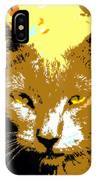 Colorful Cat IPhone Case