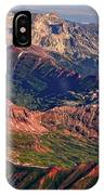 Colorful Colorado Rocky Mountains Planet Art IPhone Case