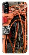 Colorful Dutch Bikes IPhone Case