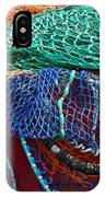 Colorful Fishing Nets 2 IPhone Case