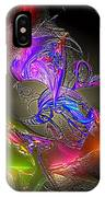 Colorful Flower Relief IPhone Case