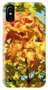 Colorful Leaf Cluster IPhone Case