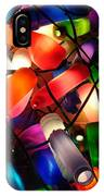 Colorful Lit Water Bottles IPhone Case