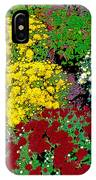 Colorful Mums Photo Art IPhone Case