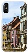 Colorful Posnan IPhone Case