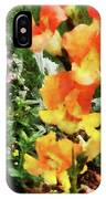 Colorful Snapdragons IPhone Case