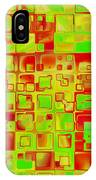 Colorful Squares II IPhone Case