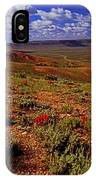 Colorful Valley From Fossil Lake Trailsil Bu IPhone Case