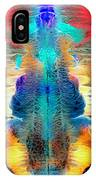 Colorful Water Color Painting IPhone Case