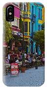 Colors Of Istanbul Street Life IPhone Case