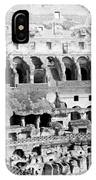 Colosseum In Rome Itlay - Interior - C 1904 IPhone Case