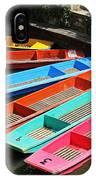 Colourful Punts IPhone Case