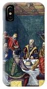 Columbus And The Egg IPhone Case