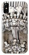 Column From Human Bones And Sku IPhone Case