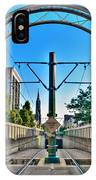 Coming And Going Downtown Main St IPhone Case