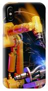 Computer-controlled Arc-welding Robot IPhone Case