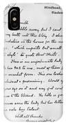 Conan Doyle: Letter IPhone Case