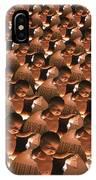 Conceptual Computer Artwork Of Human Cloning IPhone Case