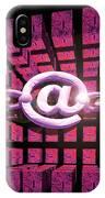 Conceptual Computer Artwork Of Internet Security IPhone Case