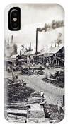 Concord New Hampshire - Logging Camp - C 1925 IPhone Case
