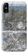 Concrete Blue 1 IPhone Case