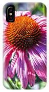 Coneflower Fun IPhone Case