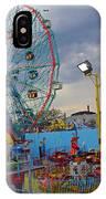 Coney Island Amusements IPhone Case