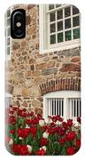 Conference House In Tottenville IPhone Case