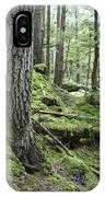 Coniferous Forest, Inside Passage IPhone Case