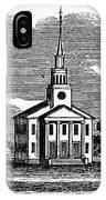 Connecticut: Church, 1836 IPhone Case