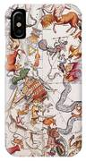 Constellations Of The Southern Sky, 1729 IPhone Case