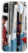 Cook And The Corner Boys IPhone Case by Lorraine Devon Wilke