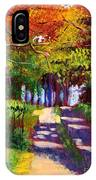 Cool Country Land Plein Air IPhone Case