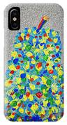 Cool Crazy Pear Abstract Painting IPhone Case