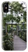 Cool House Inside The National Orchid Garden In Singapore IPhone Case