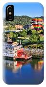 Coolidge Park During River Rocks IPhone Case