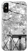 Cooper Street Railroad Trestle IPhone Case