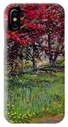 Copper Beeches New Timber Sussex IPhone Case