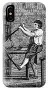 Copper Plate Printer, 1807 IPhone Case