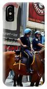 Cops In Manhattan IPhone Case