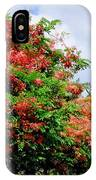 Coral Shower Trees IPhone Case