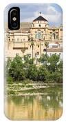 Cordoba Cathedral And Guadalquivir River IPhone Case